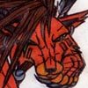 Red XIII lying