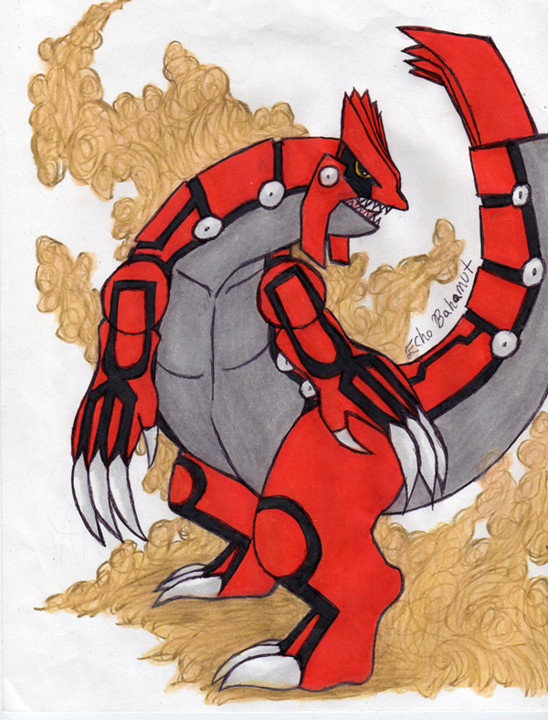 legendary pokemon groudon - photo #32