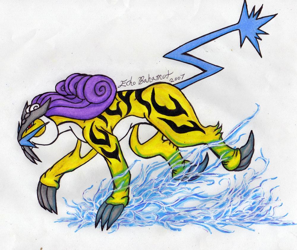legendary electric pokemon - photo #4