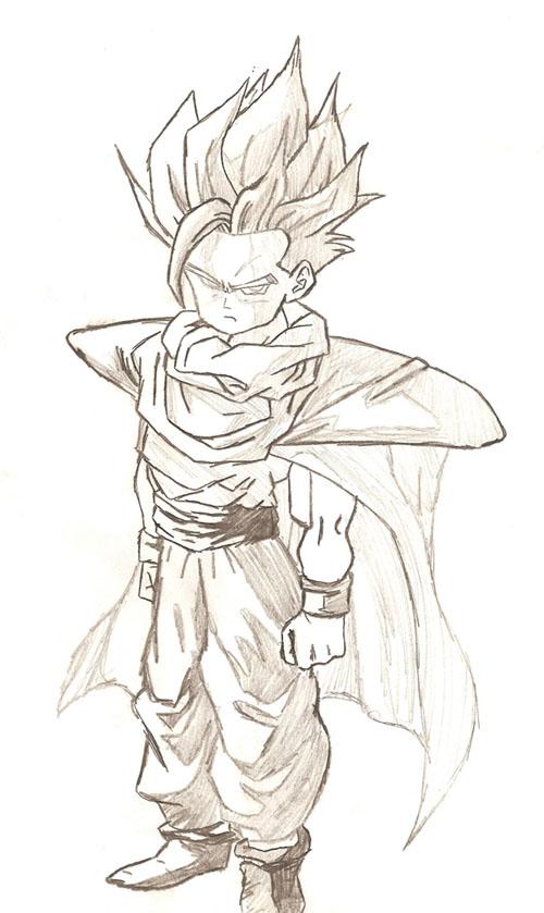 dragon ball gohan. TrkJac#39;s Art