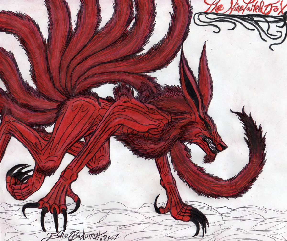 Nine Tailed Demon Fox Picture